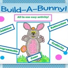 Build-A-Bunny!  Addition or Subtraction Game/Craftivity