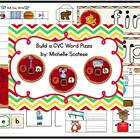 Build A CVC Word Pizza!