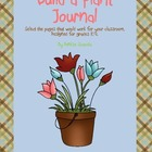 Build A Plant Journal