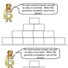 Build A Pyramid -- great for extra help