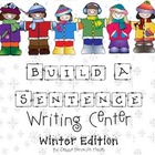 Build A Sentence Writing Center: Winter Edition