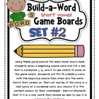 Build-A-Word {Short Vowel} Games - Set #2