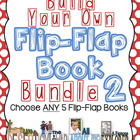 Build Your Own Flip Flap Book BUNDLE #2