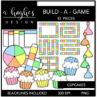 Build-a-Game: Cupcakes {Graphics for Commercial Use}