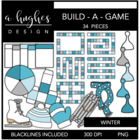 Build-a-Game: Winter {Graphics for Commercial Use}