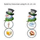 Build a Snowman Digraphs- th, sh, wh, ch