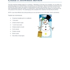 Build a Snowman Review