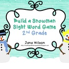Build a Snowman Sight Word Game