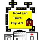 Build a Village: Town and Road Clip Art