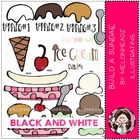 Build a sundae bundle by melonheadz black and white