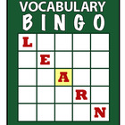 Building Academic Vocabulary BINGO