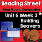 Building Beavers SmartBoard Companion Reading Street Kindergarten