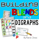 Building Blends & Digraphs {Magnetic Letter Center}