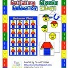Building Bricks Theme Behavior Chart
