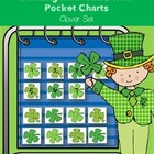 Building Math Skills with Pocket Charts Clover Set