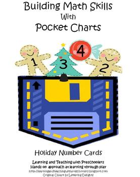 Building Math Skills with Pocket Charts Holiday Packet