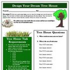Building My Dream Tree House Creative Math Activity Using Area