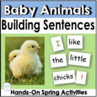 Building Sentences: Baby Animals in Spring