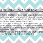 Building Theories About Characters Anchor Chart