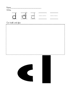 Building the Alphabet:  Lowercase Letters