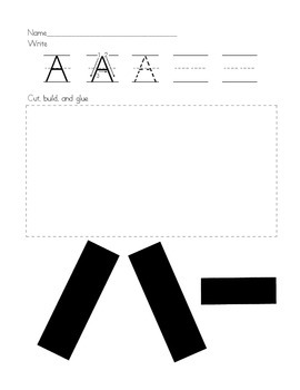 Building the Alphabet: Uppercase AND Lowercase Letters