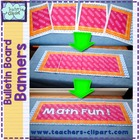 Bulletin Board Banners / Clasroom display titles {EDITABLE}