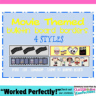 Bulletin Board Border - Hollywood / Movie Theme