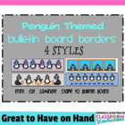 Bulletin Board Border - Penguin Theme