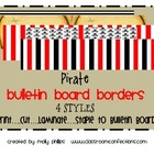 Bulletin Board Border - Priate Theme