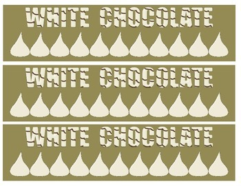 Bulletin Board Borders - Chocolate Theme