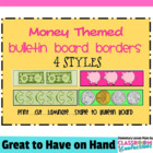 Bulletin Board Borders - Money Theme