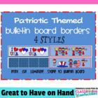 Bulletin Board Borders - Patriotic Theme