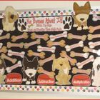 Bulletin Board: Math Fact Practice Dog Themed
