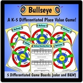 Bullseye - Place Value Game (standard and expanded form)