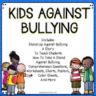Bully Prevention: Students Against Bullying -A Bundle of A