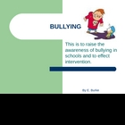 Bullying in School