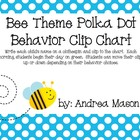 Bumblebee Theme Polka Dot Behavior Clip Chart