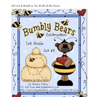 Bumbly Bears Subtraction - 1st Grade - Set #3  File Folder Game
