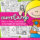 Bump & Jump Subtraction Fun!  {Easy, Differentiated Math Games}