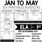 Bundle 2 - Common Core Crunch January to May - ELA CCSS Pr