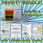 Bundle: Density Powerpoint & Density Triangle Foldable
