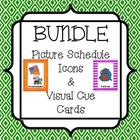 Bundle - Picture Schedule Icons & Visual Cue Cards