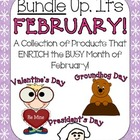 Bundle Up, It's February! {Groundhog Day, Valentine's Day