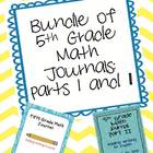 Bundle every 5th Gr Math teacher NEEDS End of the Year Rev