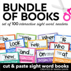 Bundle of Books {Interactive Sight Word Reader BUNDLED Set}