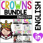 Bundle of Phonics and Thematic Crowns