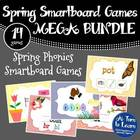 Bundle of Spring Themed Smartboard  and Promethean Board Games