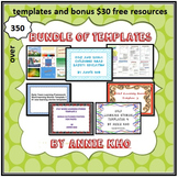 Bundle of Templates - CD Free postage within Australia only