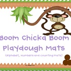 Bundled Boom Playdough Mats: Alphahbet, Numbers and Counting Mats