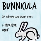 Bunnicula, by Deborah & James Howe, HUGE Literature Unit